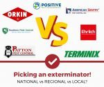 Orkin/Terminix vs Regional vs Local Exterminators (Pros and Cons of Each!)