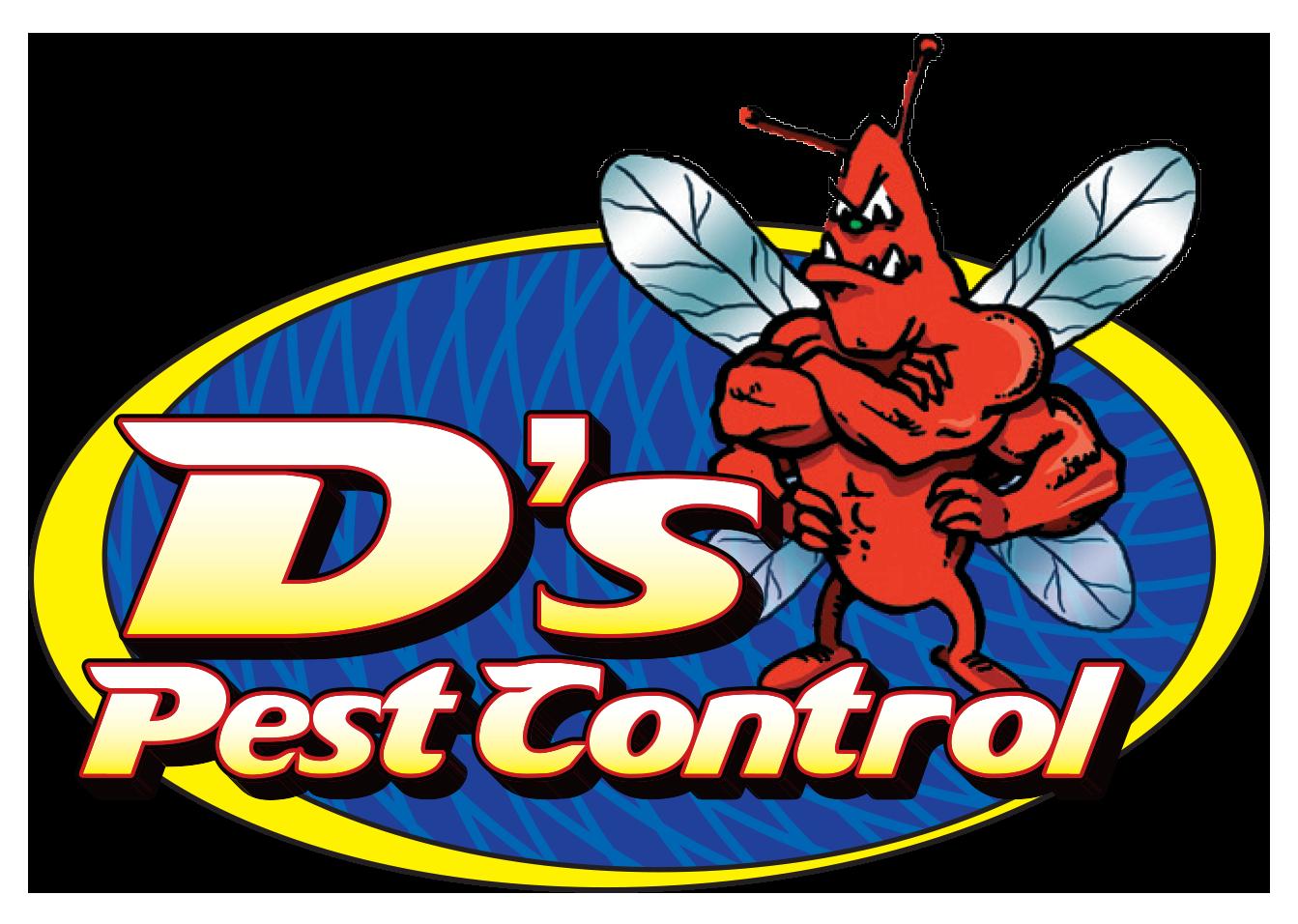 D's Pest Control logo