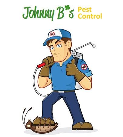 Johnny B's Pest Control logo