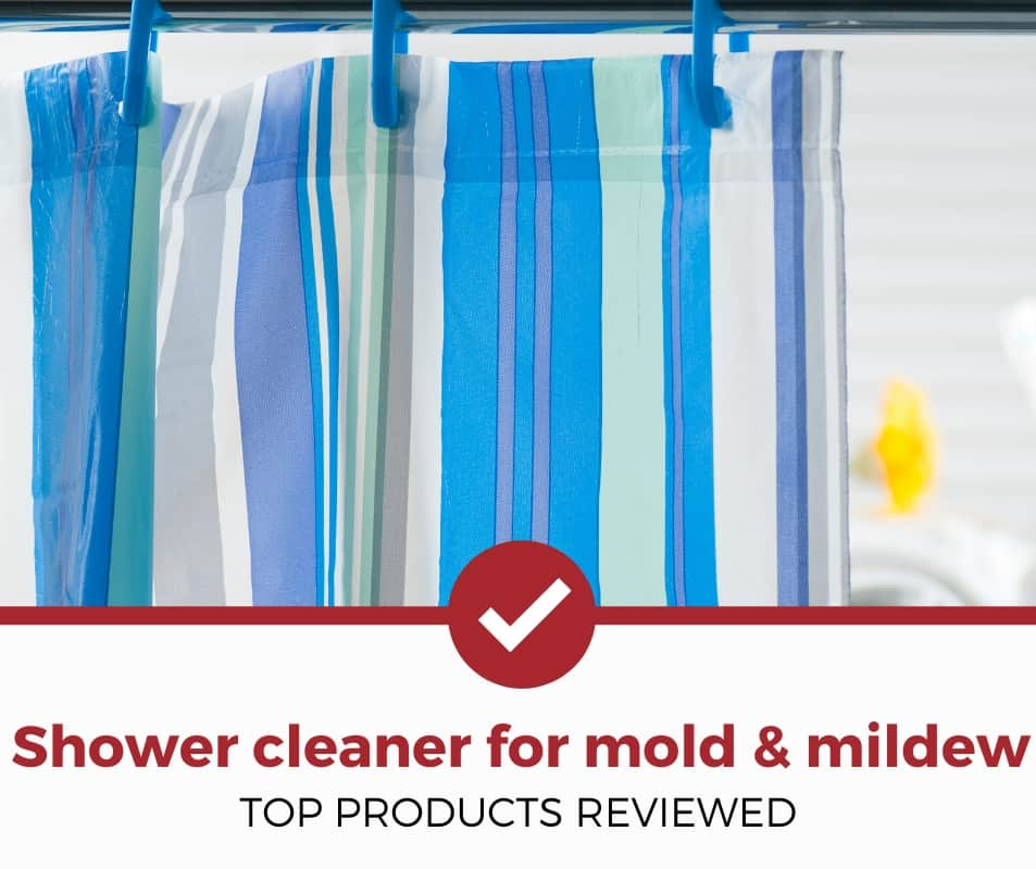 Shower Cleaner for Mold and Mildew