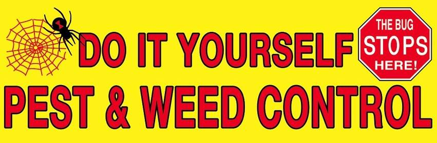 Do it Yourself Pest and Weed Control